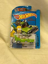 Buy Toy Car The Simpsons The Homer On Card Hot Wheels 2014
