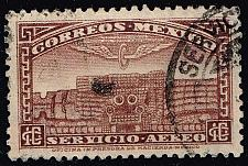 Buy Mexico #C66 Quetzalcoatl Temple; Used (1Stars) |MEXC066-01XRS