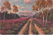 Buy Evangeline Valenttines Mezzograph Art Vintage Postcard
