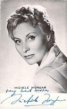 Buy French Actress Michele Morgan Autographed Real Photo Postcard