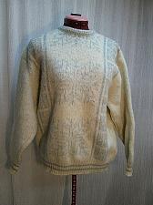 Buy Tundra Scandinavian Fuzzy Wool Ski Sweater Pullover Snowflake Size L s150k