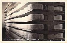 Buy Curing Tillamook Chedder Cheese Factory Real Photo RPPC Vintage Postcard