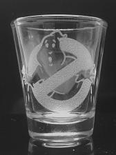 Buy Ghostbusters Laser Engraved Shot Glass