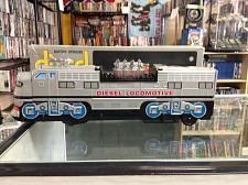Buy Vtg Diesel Locomotive engine Fu Yo Toy Taiwan tin litho Diesel Train