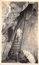 Buy Stairway to Paradise Lost, Oregon Caves, Oregon Real Photo Postcard RPPC