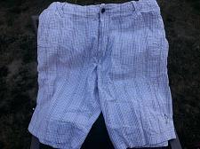 Buy *RARE NIKE Air Jordan Men's 34R Pair Shorts Purple Plaid + 1Pair Columbia Shorts