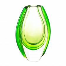 Buy *17383U - Emerald Green Art Glass Accent Vase