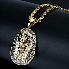 Buy Elvis Presley TCB NY Concert Jumpsuit Stage Necklace Mens Egyptian King Pharaoh