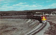 Buy Santa Fe Streamliner Near Ribera New Mexico Vintage Postcard
