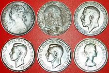 Buy § PORTRAITS OF RULERS: UNITED KINGDOM★ FARTHING 1886-1954! LOW START★NO RESERVE!