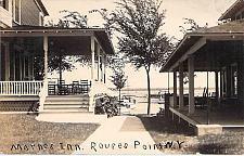 Buy Marnes Inn, Rouses Point, New York Real Photo RPPC Vintage Postcard