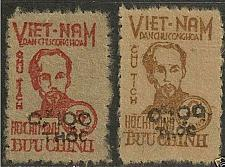 Buy NORTH VIETNAM 1955 HO CHI MINH (Scott 1L62-1L63) VM2 06-07 MNH VF Cat Value $400