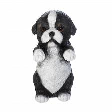 Buy *17276U - Climbing Cutie Black Border Collie Puppy Misty Fence Sitter Figurine