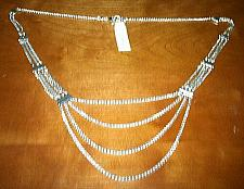 Buy Wheat Chain Layered Silver-Tone Necklace