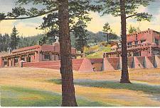 Buy Kendall Community House, Monument Lake Park, Colo. Unused Vintage Postcard