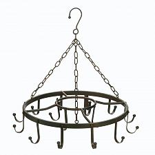 "Buy *17687U - Circular 22"" Iron Hanging Pot Holder"