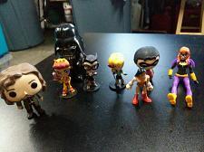 Buy ***DC Lil Bombshells SerieS Catwoman Black Canary Flash + FUNKO POP BUNDLE / LOT
