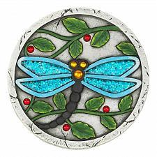 "Buy *18534U - Blue Dragonfly 10"" Cement Garden Stepping Stone"