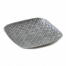 Buy *17362U - Trellis Stamped Square Dish