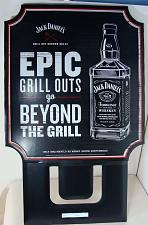 Buy NEW JACK DANIELS OLD NO 7 WHISKEY 3-D GRILL OUTS EPIC BAR CARDBOARD SIGN PROMO
