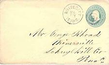 Buy Boise City Idaho to Minersville PA DPO Cover Circa 1880