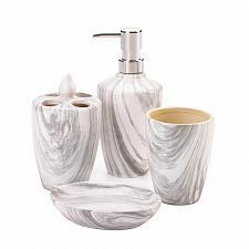 Buy *18749U - Marble Printed Bath Accessory Set