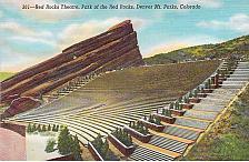 Buy Red Rocks Amphitheatre,Denver Mountain Parks Colo Posted Vintage Postcard #2