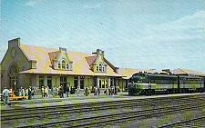 Buy Northern Pacific Depot, Billings Montana Vintage Postcard