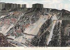 Buy Eagle River Canyon, Colorado, Denver & Rio Grande Railway Vintage Postcard