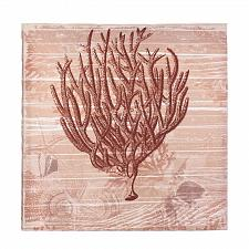 Buy *17387U - Seaside Red Rust Coral Canvas Wall Art