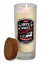 Buy :10888U - Winter Cosmo Highball White Glass Scented Candle Jar