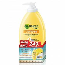 Buy Garnier Light Extra Skin Whitening Repairing Milk Body Lotion 400ml Pack of 2