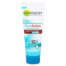Buy Garnier Pure Active Anti Acne White Oil Clearing Scrub 100ml
