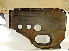 Buy ALFA ROMEO SPIDER Fuel Gas Tank trunk cover panel Plate