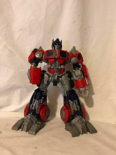 "Buy Action Figure Transformers 11"" Optimus Prime Talking Hasbro 2006"