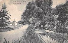 Buy South Country Road at Brookhaven, Long Island New York Vintage Postcard