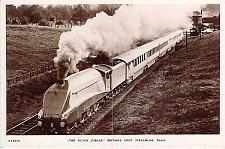 Buy Silver Jubilee, Britain's First Streamline Train Real Photo RPPC Postcard