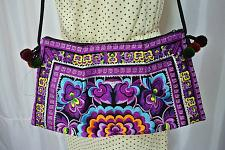 Buy Thai Hmong Tribal Embroidered Hill Tribe Purse Crossbody Bag Boho Hippie Handbag