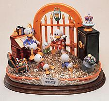 Buy Uncle Scrooge Capodimonte Disney New Mint Laurenz Figurine C.O.A. Original Box