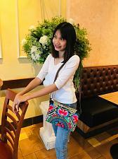 Buy Thai Hmong Tribal Ethnic Vintage Floral Embroidered Shoulder Bag Handbag BM-024