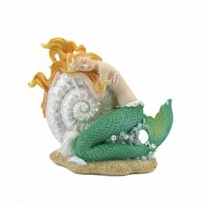 Buy *18818U - Mermaid Sleeping On Seashell Underwater Figurine