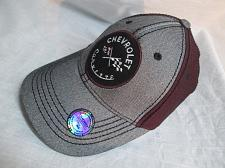Buy H85S Chevrolet Corvette Baseball Cap One Size Adjustable Hat Gray Maroon