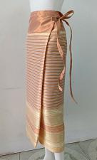 Buy Thailand Tradition Multi Wrap Sarong long Skirt Stitching Tie Waist dress SR36