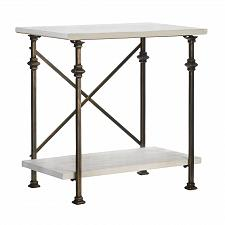 Buy *18516U - Iron & Wood Console Table