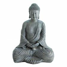 "Buy *18340U - Meditation 16"" Buddha Statue Far East Figure"