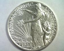 Buy 1915-S PANAMA PACIFIC EXPOSITION COMMEMORATIVE ABOUT UNCIRCULATED AU ORIGINAL