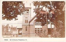 Buy M.E. Church, Waterbury Vt Real Photo RPPC Vintage Postcard