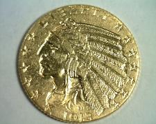 Buy 1913 FIVE DOLLAR INDIAN HEAD GOLD CHOICE ABOUT UNCIRCULATED+ CH AU+ ORIGINAL