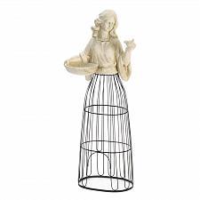 Buy *18787U - Lady Bird Feeder & Plant Atrium Garden Statue