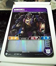 Buy Wizards of the Coast Transformers CCG Bombshell Foil WOTC TCG